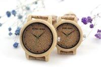 Precio de Cajas de madera relojes-Reloj BOBO BIRD M11 M12 Reloj de Madera Reloj Reloj Mujer Orologio Donna como Mejor Regalo para Amantes con Caja de Regalo de Papel