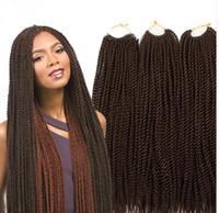 Wholesale strands Each Pack gram Havana Mambo Twist Crochet inch Ombre Senegalese Twist Hair Crochet Jumbo Ombre Braid Hair Twist
