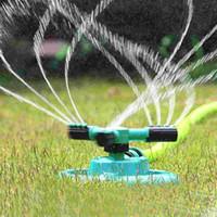 Wholesale Watering Head Garden Brass Supplies Lawn Sprinkler Garden Sprinklers Water Durable Rotary Three Arm Water Sprinkler