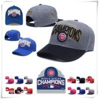 baseball caps chicago - Champion Sport KNIT MLB CHICAGO CUBS Baseball Club Beanies Snapback Hat Rizzo Caps Popular Beanie Hats Cheap Gift Present