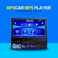 Wholesale Car Navigator inch universal car DVD car DVR retractable screen Bluetooth GPS