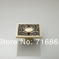 antique rose golden - e pak L5400 Antique Brass Rose Golden Bathroom Floor Drain Faucet Accessory Floor Drain Shower Faucet Accessories