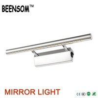 bathroom mirror cabinets with lights - SMD5050 LED Mirror Light Cabinet AC110V V W W W Warm White for Bathroom Make up Wall Lamp with Switch Waterproof Driver