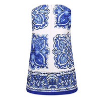 american leaders - 2016 Hot Sale Bear Leader Chinese Girls Dresses Brand Princess Dress Kids Clothes Blue and White Porcelain Print Design Girls Clothes