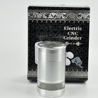 automatic grinder - Jiju Automatic Herb Grinder New Aluminum Electric Tobacco Grinder Crusher Herb Spice Quickly Smoke Grinders JL JA