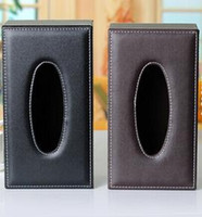 automotive business - Automotive leather tissue box u cortex suction box store paper for creative gift box Fashion auto paper towel business stylemail