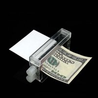 Wholesale 2017 New Cash Banknote Printer Money Printing Machine Magic Trick Tool Kit Tricking Toy Gift for party show