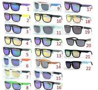 achat en gros de lunettes de soleil polarisées barre-500pcs Vente Lunettes de soleil KEN BLOCK HELM Marque Cyclisme Sports Outdoor Hommes Femmes Lunettes de soleil Polarized Optique Lunettes de soleil 22 Couleurs