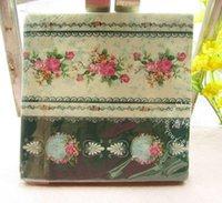Wholesale Wedding Vintage Flower Color Napkin Paper Virgin Wood Tissue for Party Wedding Decoration
