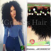 Wholesale 8 inch bundles set human curly hair extension kinky Curly weave human hair bundles Cheap hair weave bundles jerry curl style