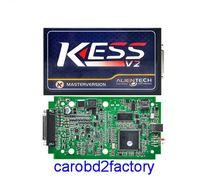 Wholesale DHL KESS V2 Master V2 Newest OBD2 Manager Tuning Kit No Token Limit Kess V2 Master FW V4 Master Version