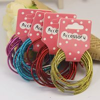 Hair Rubber Bands band export - To customized Bright Children Suit and export trade company