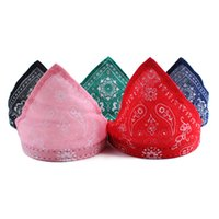 Wholesale Spot pet collar type PU triangle triangular scarf