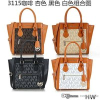 Wholesale 2017 New Michael style kores PU tote bag with women coin purse custom made fashion pu tote colorful women handbags mk