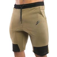 Wholesale 2017 NEW Summer Mens gymshark Shorts Sporgymt Casual Short brand clothing boys Shorts Men Jogger Trousers Knee Length Shorts