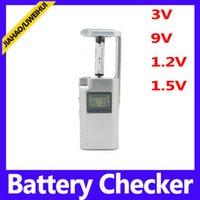 battery testers - Mini Digital battery checker for V V V V battery analyzer meter tester checker for household