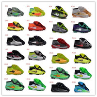 Wholesale Obra II D FG Soccer Shoes Men Obra II Football Shoes Outdoor Messi Soccer Boots CR7 Football Boots Football Cleats Athletic Shoes