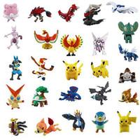 Wholesale 72pcs Action Toy Figures cm Pokeball Pikachu