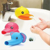 Wholesale Faucet Extender for Help Toddler Kids Hand Washing by self Sink Cute Cotton Pattern for Adults and Kids Convenient Plastic Package