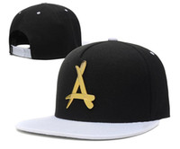 Sombrero de hip-hop del nuevo de la manera THA Alumni Hierro sombrero de cuero del logotipo de Snapback de los casquillos Negro Rojo Marca Hip Hop Sombrero de los deportes ajustable de los hombres