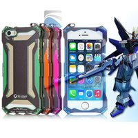 Metal case series design - For S5 Iphone S Heavy Duty Iphone case Gundam Series Style Metal Case Fashion Design Retail Package