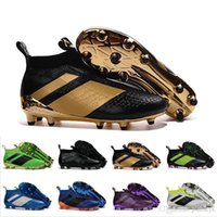 best grind - 2017 Discount Ace Soccer Cleats Ace Purecontrol FG Firm Ground Cleats FG CG Men Football Soccer Shoes Best Quality