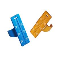 aluminium ruler - 1 Free Shippiing New Arrival High QualityPro Dental Instruments Endo Aluminium Finger Rulers Span Measure Scale