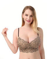 ab lingerie - Free shiping New Quality Brand Leopard Bra Sexy Women Underwear Lace Push Up AB Bra Leopard Lingerie Life UP Retail