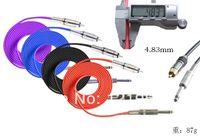Tattoo Power Supply audio machine - m ft high quality tattoo power supply RCA Audio Plug Silicone Tattoo Machine Plug Clip Cord Power Line Tattoo Supplies