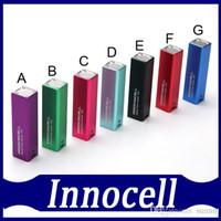 100% Origianl Innocell batterie 2000mah Box Mod Vaping Système d'alimentation Innokin cellulaire Corps de contrôle Micro USB Charging DHL free