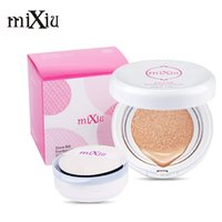 Wholesale MIXIU Air Cushion Makeup BB Creamith Mirror Replace The Snow Moisturizing Concealer Bare Strong Whitening Face Make Up