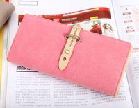 Wholesale 2016 lady use hot sale new design Han edition of fashion handbags Ms ms purse classic pump belt hitting scene long purse