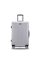 Wholesale In stock hot and new air trolley abs printed hard shell travel luggage with high quality for business
