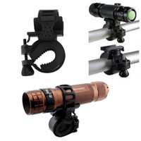 Wholesale The flashlight stents Degree Cycling Bike Mount Holder for LED Flashlight Torch Clip Clamp
