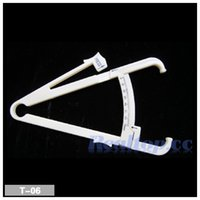 accurate measuring - Popular Body Fat Tester Personal Body Loss Fat Caliper Tester Accurate Calipers Measure Keep Slim Healthy Fitness Body Fat Monitor
