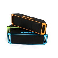 Wholesale New Arrival SC208 Bluetooth4 Speaker D Surround Subwoofer Stereo Portable Wireless support TF USB FM Radio Sound Box