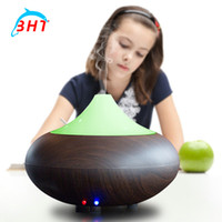air types - New Portable ml Essential Oil Diffuser Aroma Humidifier Aromatherapy Diffuser LED Night Light Ultrasonic Cool Mist Fresh Air Spa