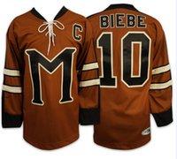 Wholesale John Biebe Mystery Alaska Movie Hockey Jersey