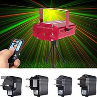 Projecteur projecteur laser party Prix-Vente en gros Mini Auto / Voix de Noël DJ Disco Party LED Laser Stage Remote Light Lamp Projector