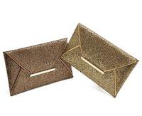 Acheter Women formal clutch-Mode de haute qualité de la marque Formal Femmes Sac de soirée PU cuir Paillette sacs à main Sac à main féminine solide Housse de changement de carte de téléphone