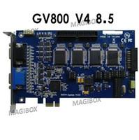 GV800   Wholesale- Surveillance GV 800 GV-800 DVR Capture Card PCI-E v8.5 16CH