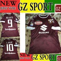 Wholesale 16 TORINO HOME jersey BELOTTI LJAJIC TORINO player version jersey customize patches