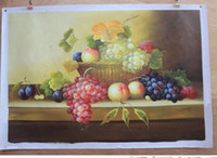 abstract fruit paintings - Fruits Pure Hand Painted Modern Wall Decor Still Life Art Oil Painting On High Quality Canvas Multi size
