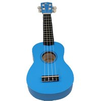 Wholesale Basswood Soprano Ukulele With Strings Picks Small Guitar Blue Pink S Type quot
