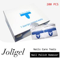 Wholesale Joligel Remover Nail Art Gel Polish Easy Cleaner Gel Nail Wraps UV Nail Polish Remover Care Tools