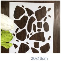 Wholesale Background stencils Masking template kits of pieces stars pebbles honeycomb curtain For Scrapbooking cardmaking painting DIY cards
