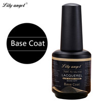 best nail varnish - Lily angel ml Best Quality Base Coat Long lasting Soak Off Varnish Manicure Nail Gel Nail Gel Lacquer Z38