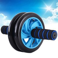 Wholesale Brand New No Noise Green Abdominal Wheel Ab Roller With Mat For Exercise Fitness Equipment