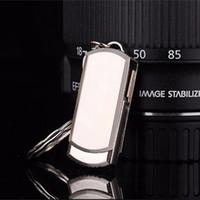 Wholesale USB2 Flash Drives G G G G Pen Memory Sticks High Speed Stainless Steel Flash Drives