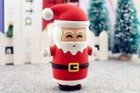 Wholesale 8800mA merry Christmas Santa Claus portable power bank powerbank for Samsung iphone Huawei Lenovo Xiaomi TCL OPPO VIVO Motorola Sony